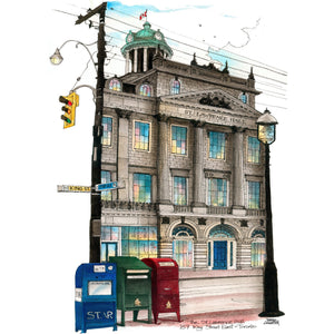 St. Lawrence Hall Toronto Post Card