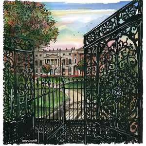 Post Card - Osgoode Hall Gates Toronto