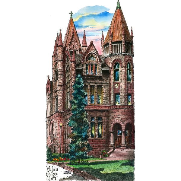 Post Card - UofT, Victoria College, Toronto