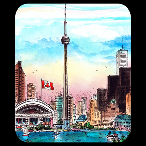Toronto Skyline Mousepad with CN Tower