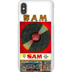Sam The Record Man Phone Case