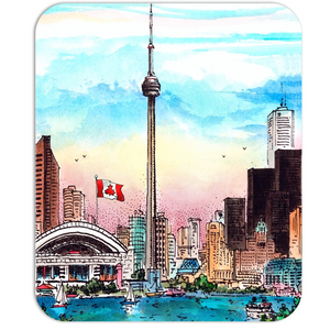 Toronto Mousepad - Toronto Skyline with CN Tower