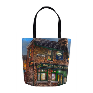 Rovers Return, Coronation Street Tote Bags