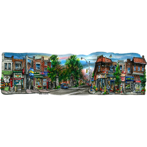 Toronto Neighbourhoods Wall Art | Baby Point