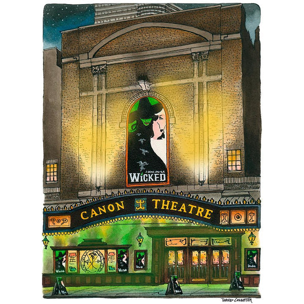 Post Card - Wicked @ The Canon, Toronto by David Crighton