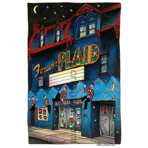 Theatre Marquee Card | Forever Plaid