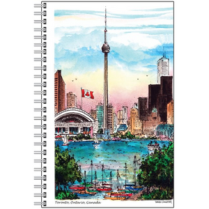 CN Tower Toronto Notebook | Toronto Personalized Gifts