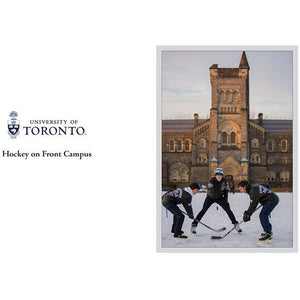 U of T - Hockey On Front Campus Greeting Card