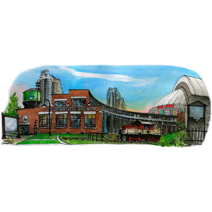 Steam Whistle Brewery Toronto Postcard