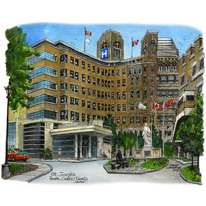 St. Josephs Hospital Toronto Fridge Magnet