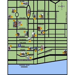 Special Event Game - Interactive Art Map of Toronto