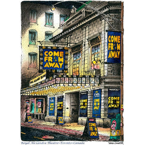 "Toronto Wall Art - Royal Alex ""Come From Away"""
