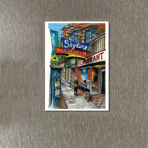 Skyline Restaurant Toronto Fridge Magnet