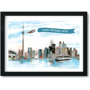 Toronto Skyline Custom Mini-Frame