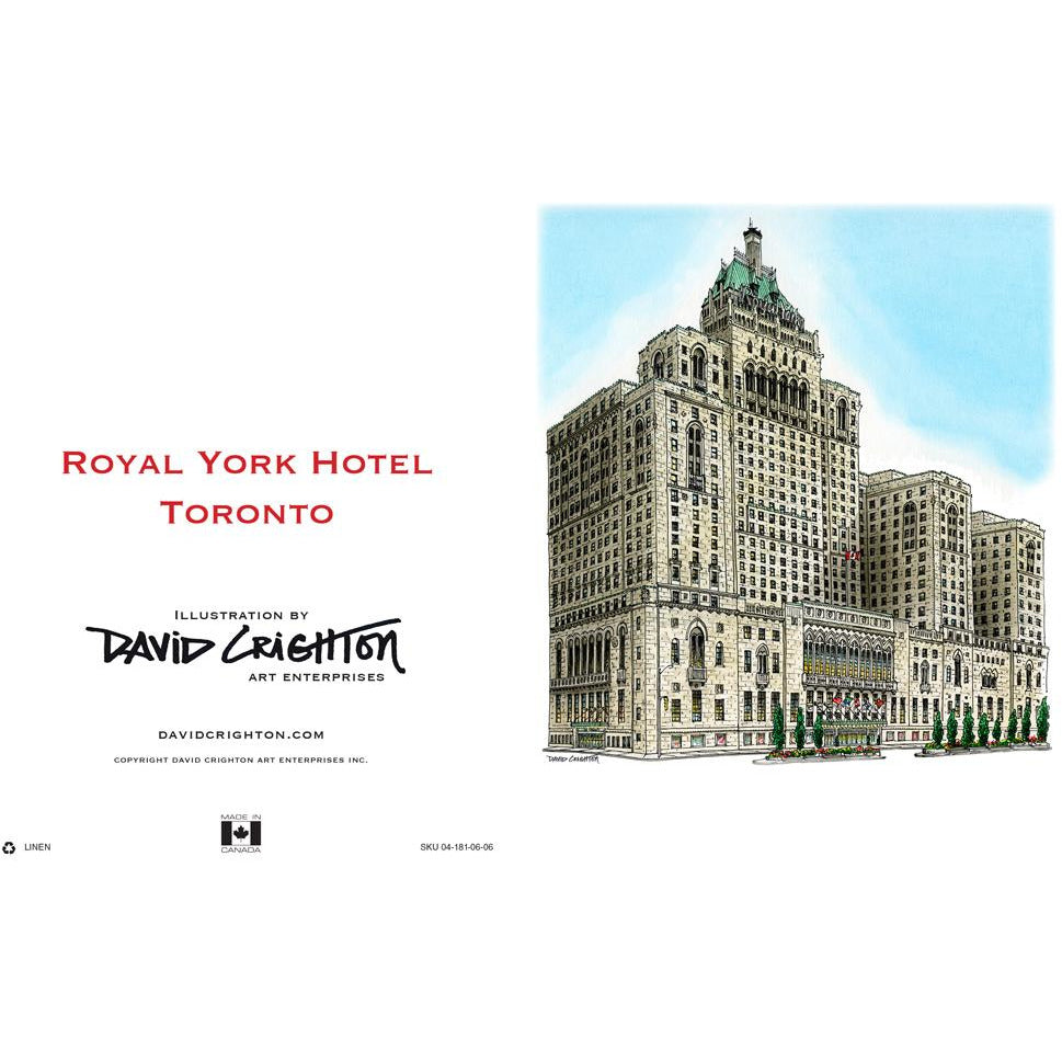 Royal York Historic Hotel Card | David Crighton