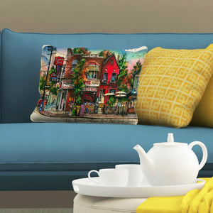 Beaches Neighbourhood Pillows by David Crighton Art