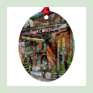 Distillery District Christmas Ornaments