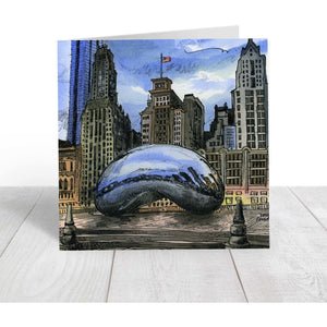 Chicago, Ill, USA Greeting Card