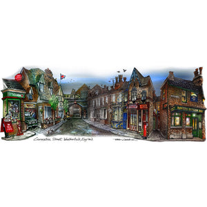 Coronation Street Wall Art