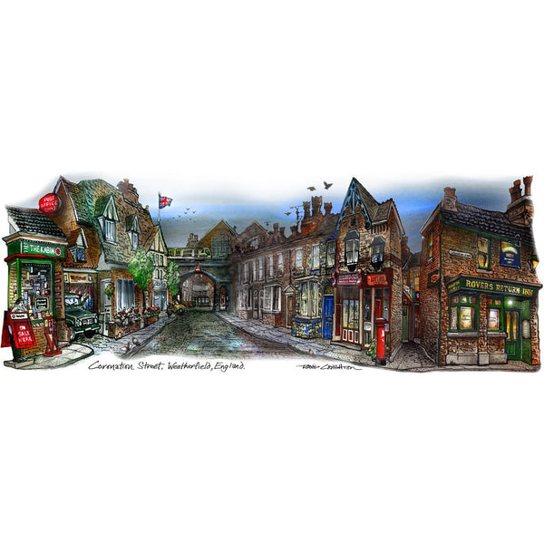 Coronation Street  by  David Crighton