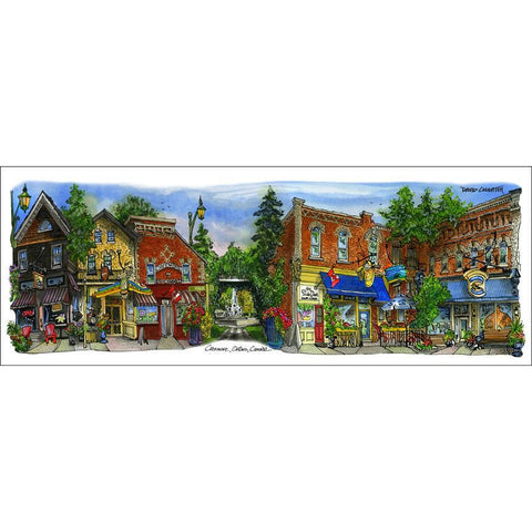 Creemore, Ontario by Illustrator Artist David Crighton Art