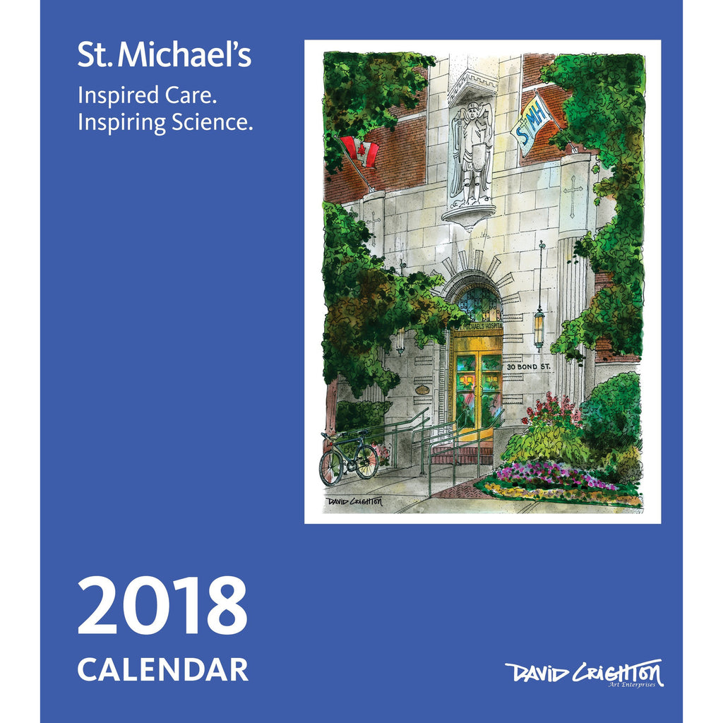 St. Michaels Custom Calendar