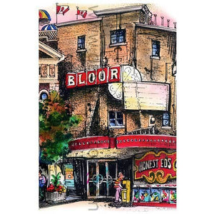 Bloor Cinema in Toronto, Canada by Artist Illustrator Totally Toronto Art