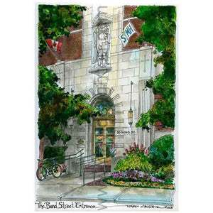 St. Michaels Hospital, Toronto Art Print