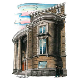 University of Toronto Convocation Hall Art Print