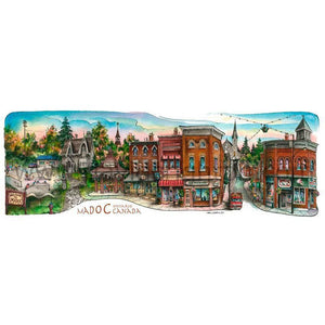 Madoc, Ontario, Canada by Artist Illustrator Totally Toronto Art
