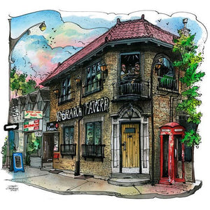 Monarch Tavern, Toronto Art Print