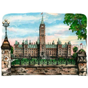 Parliament Buildings #2, Ottawa Art Print