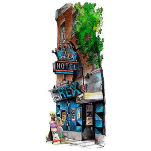 Cool jazz spot on Queen Street West is just one of our Toronto Art Prints