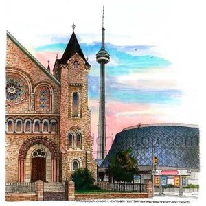 Roy Thomson Hall-St. Andrews Church, Toronto Wall Art