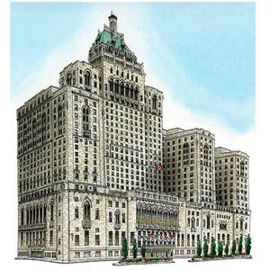 Royal York Hotel, Toronto .  One fabulous art print of a famous 416 landmark