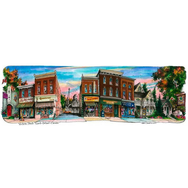 Tweed, Ontario, Canada by Artist Illustrator David Crighton Art