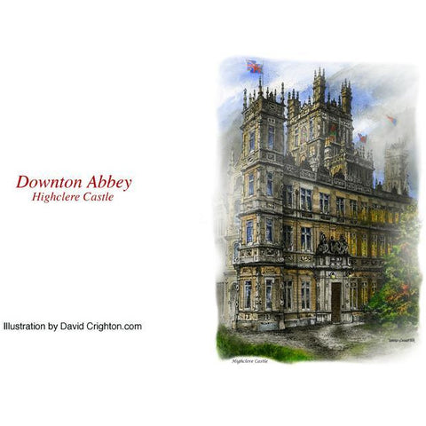 Downton Abbey Estate Card by David Crighton