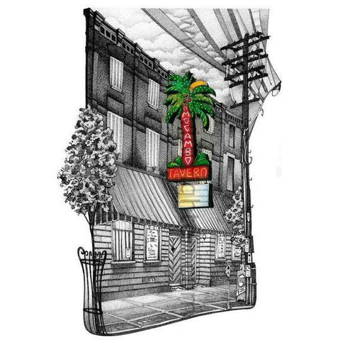 Post Card - El Mocambo, Toronto by David Crighton
