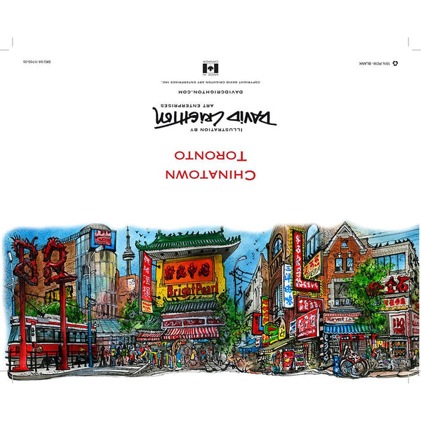 Chinatown Card, Toronto by David Crighton