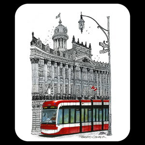 St Lawrence Hall TTC B&W Mouse Pad