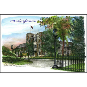 Havergal College, Toronto by Artist Illustrator David Crighton Art