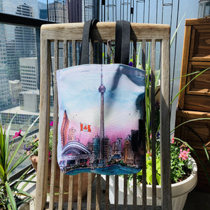 Toronto Tote Bag - Toronto CN Tower Skyline