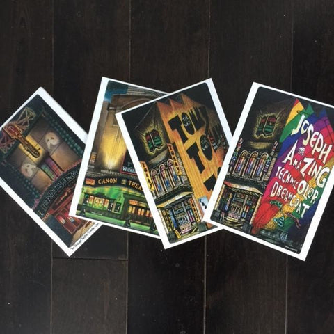 Assorted Theatre Cards by David Crighton (Package of 6)