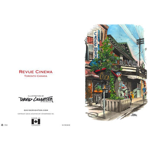 Revue Cinema Greeting Card