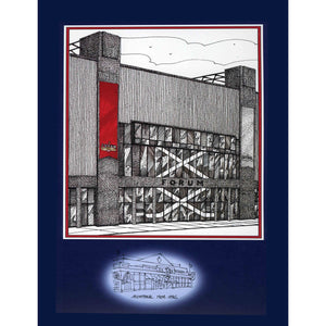 Montreal Forum (Original Six) Hockey Poster