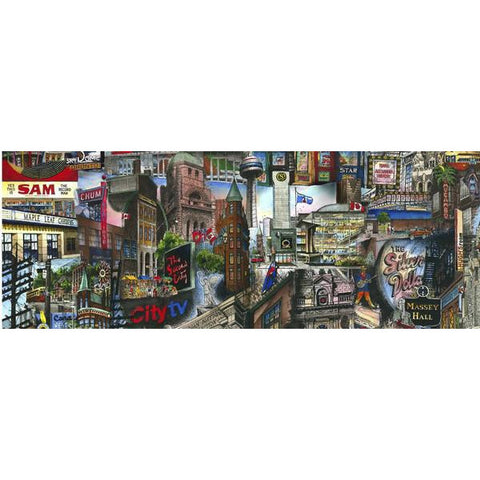 My Toronto Card by David Crighton Art