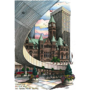 Post Card-  Nathan Phillips Square., Toronto