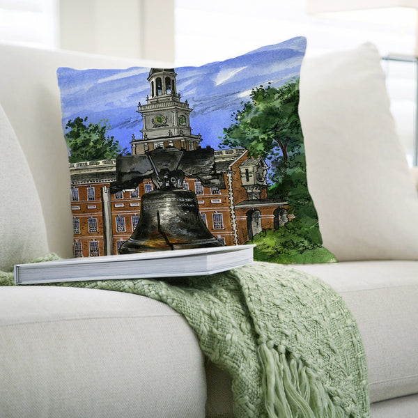 Philadelphia Pillows by David Crighton Art