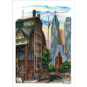 Toronto Post Card - St. Lawrence Market