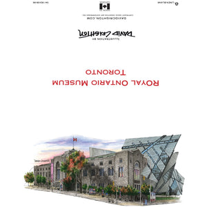 Royal Ontario Museum Toronto Greeting Card